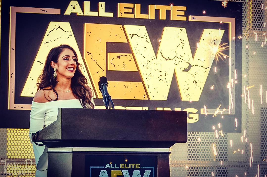 BRITT BAKER SIGNS WITH ALL ELITE WRESTLING